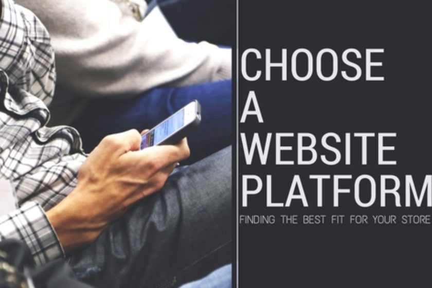 Choosing a website platform