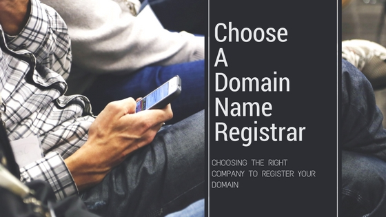 Choosing a domain name registrar