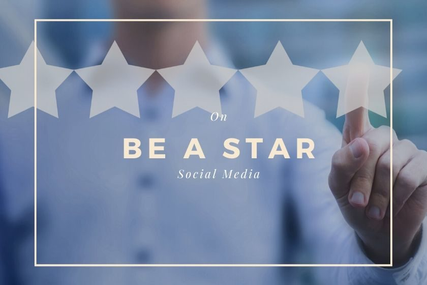 Be a star on social media